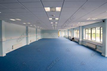 Потолок Армстронг Дюна (DUNE Supreme) с кромкой тегулар (плита с повисанием) на белой подвесной системе (1-10)