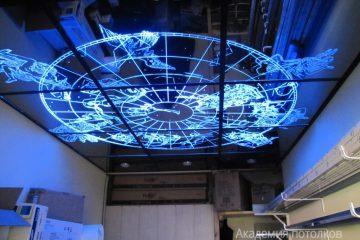 """Потолок Знаки зодиака с эффектом """"Звездное небо"""""""