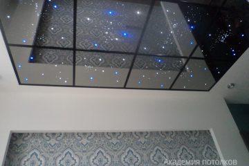 """Потолок """"Звездное небо"""", разноцветная подсветка"""