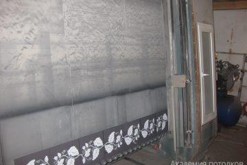 Печать узоров на потолке