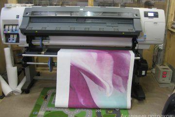 Широкоформатная печать потолков