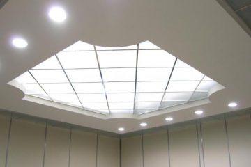 Потолок с подсветкой из оргстекла (Акрил)