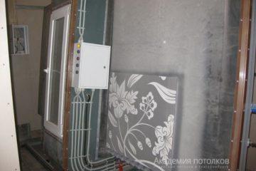 Печать узора на стекле потолка