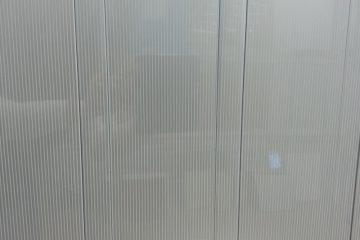 Рейка «Металлик в полосочку» 100х3000мм