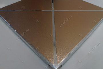 Кассета Caveen №H006 Треугольники золото