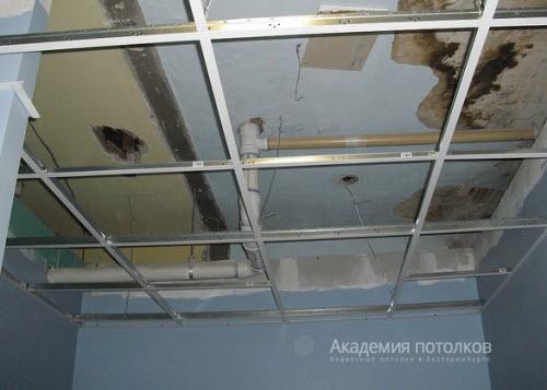 Устройство подвесных потолков своими руками