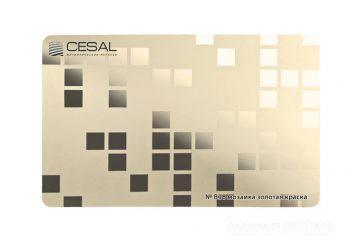Кассета CESAL №038 Мозаика золотая