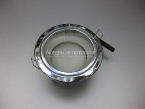 Светильник Ecola GX53 H2R, высокий, хром