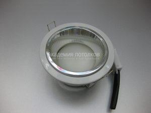 Светильник Ecola GX53 H2R, высокий, белый