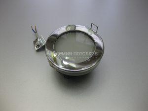 Светильник Ecola GX53 H9 IP65, влагостойкий, хром