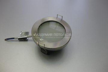Светильник Ecola GX53 H9 IP65, влагостойкий, сатин хром