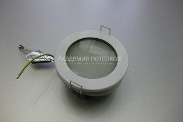 Светильник Ecola GX53 H9 IP65, влагостойкий, белый