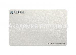 Рейка Cesal 100х3000 мм №В26 Шампань