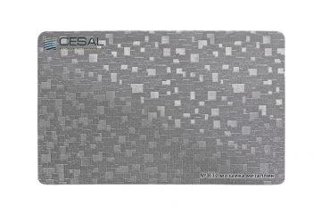Рейка, вставка, П-образный профиль №В32 Мозаика металлик