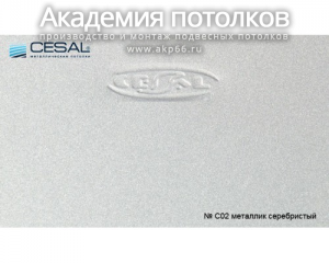 Вставка S-25 (металлик) C02
