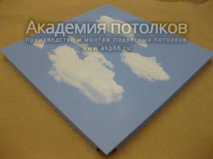 Кассета алюминиевая 600х600мм  №388  (закрытого типа). Небо