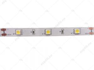 Светодиодная лента 7.2Вт/30LED/м белый свет IP20