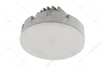 Лампа светодиодная 12 Вт GX53 4200К таблетка матовое стекло