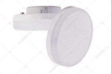 Лампа светодиодная 6 Вт GX53 4200К таблетка матовое стекло