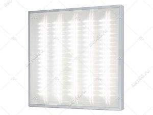 Светодиодный светильник Geniled микропризма 595х595х20мм 50Вт 5000К