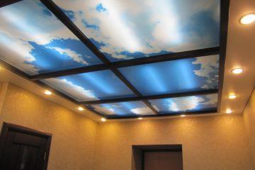 Потолок на спецпрофиле