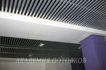 Потолок из вставок. Вставка металлик - 4