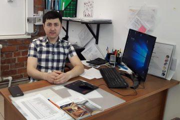 Бобобеков Анвар - начальник производственного цеха