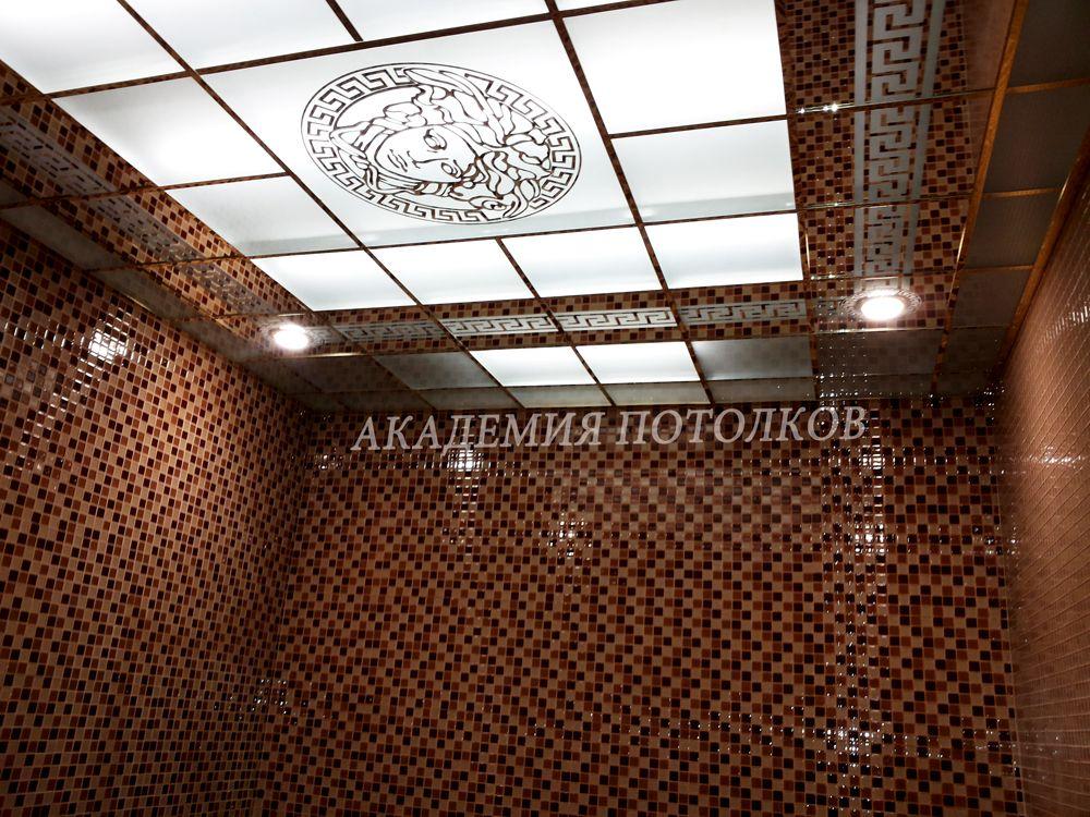 Подвесные потолки в ванной комнате