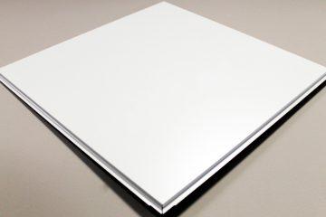 Кассета Cesal оцинкованная сталь Tegular  (595х595х0,32мм)  №903 Белая (24 шт/уп)