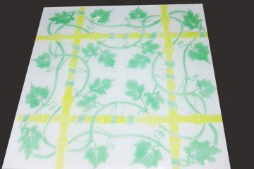 Декор № 027/2 595×595 мм цветной «Бамбук»