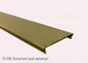 """Рейка Cesal 100x4000 мм № 010В """"Золотистый жемчуг"""""""