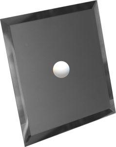 Зеркало Титан фацет 295х295 с отверстием 75мм под светильник