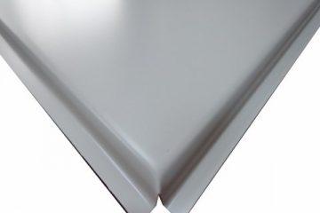 Кассета 600х600 Microlook 0,4 белая (20 шт/уп)