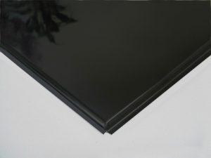 Кассета алюминиевая кромка Тегулар цвет Черный (595х595х0,4мм) (20 шт./уп.)