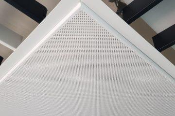 Кассета 600х600 Microlook 0,4 белая перф.К5