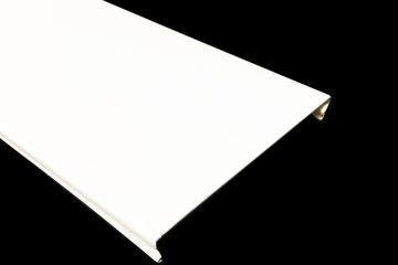 Вставка Cesal 25х3000 мм №3306 Белый матовый