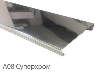 Вставка Cesal 25х3000мм №А08 Супер хром