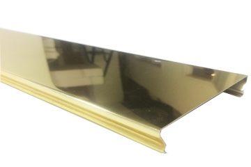 Вставка Cesal 25х3000мм №А09 Супер золото