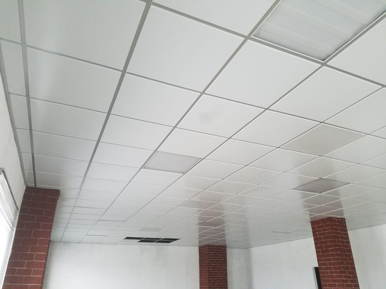 Подвесной потолок для гаража